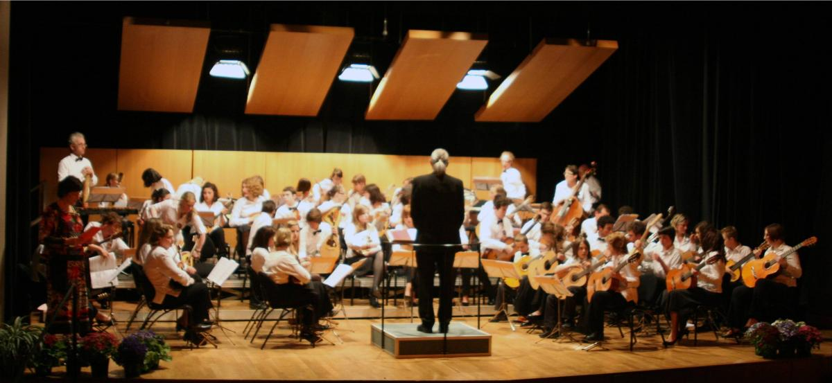 photo orchestre couleur